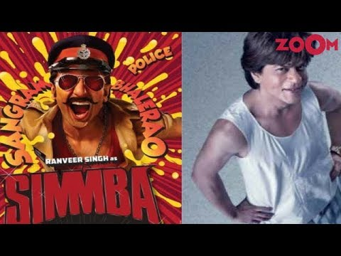 Ranveer Singh's 'Simmba' to avoid clash with Shah Rukh Khan's 'Zero'!  Bollywood