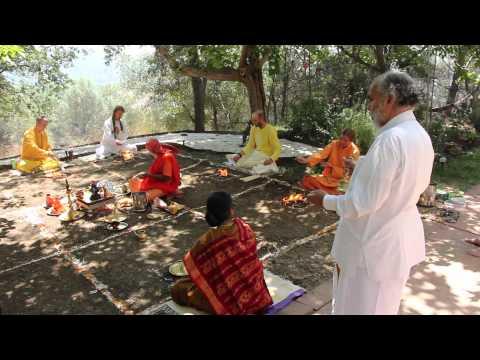 Udakagni Homa at Sivananda Yoga Farm, Grass Valley, CA