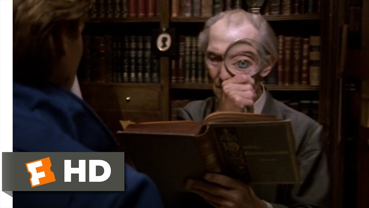 Top Secret 6 9 Movie Clip Backwards Bookstore 1984 Hd Youtube