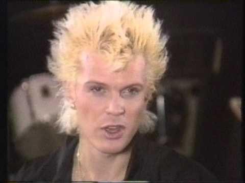 Billy Idol Interview MTV 1987