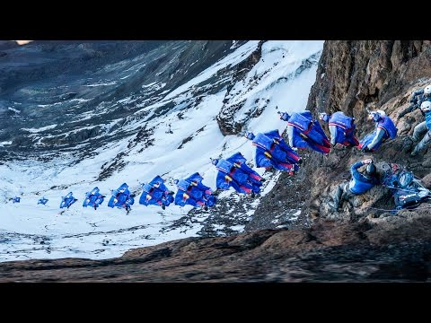 Breathtaking Wingsuit Flight from Mt. Kilimanjaro | GoPro View