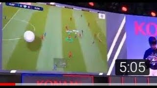 Pes 2019 Mobile The premiere Shod of Konami for the game pes 2019 mobile be the first to watch