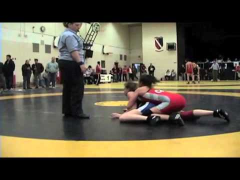 2010 Ontario Junior Championships: 55 kg Brianne Barry vs. Christianna Walker