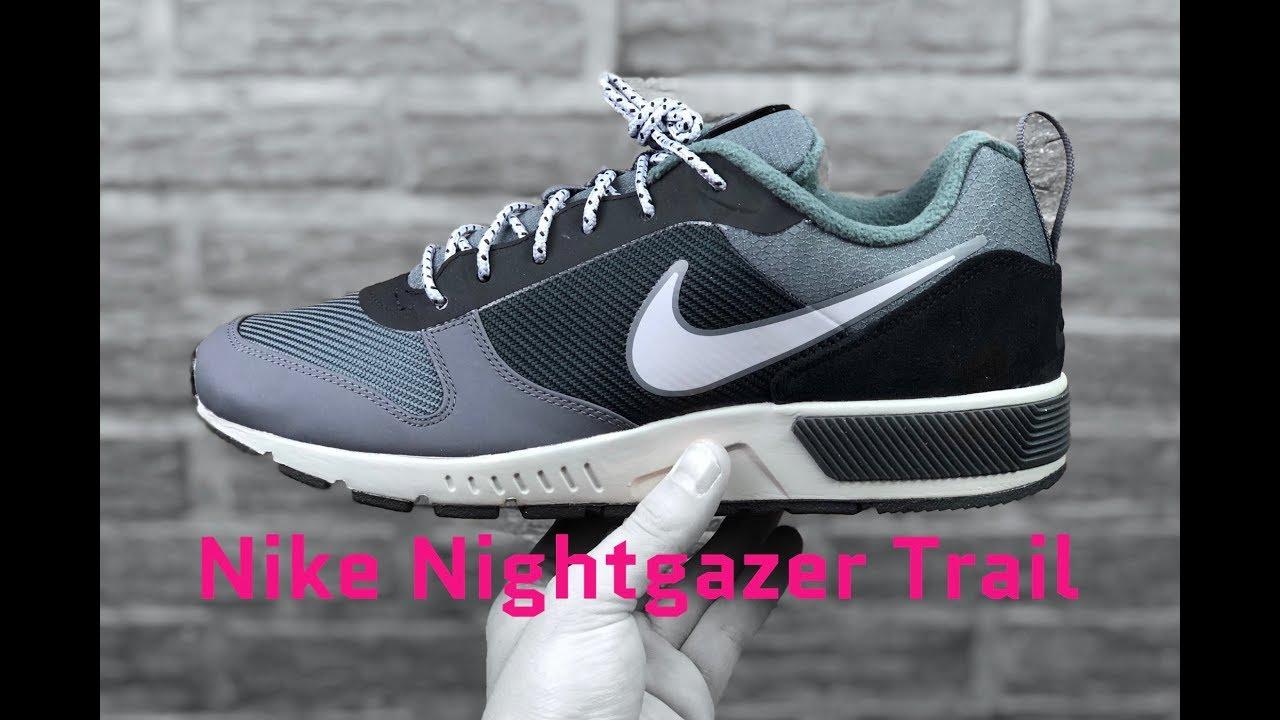 28511b9a735061 Nike Nightgazer Trail  anthracite  wolf grey- dark grey