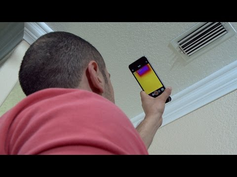 Detecting Repairs in the Home with Thermal Imaging Cameras