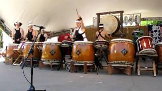 Taiko Drum Performance at Japanese Festival 2011