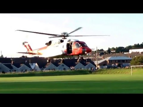Irish Coastguard helicopter 116