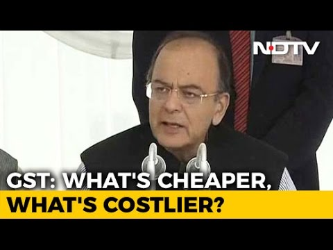 One Nation, One Tax: What's Cheaper, Costlier After GST