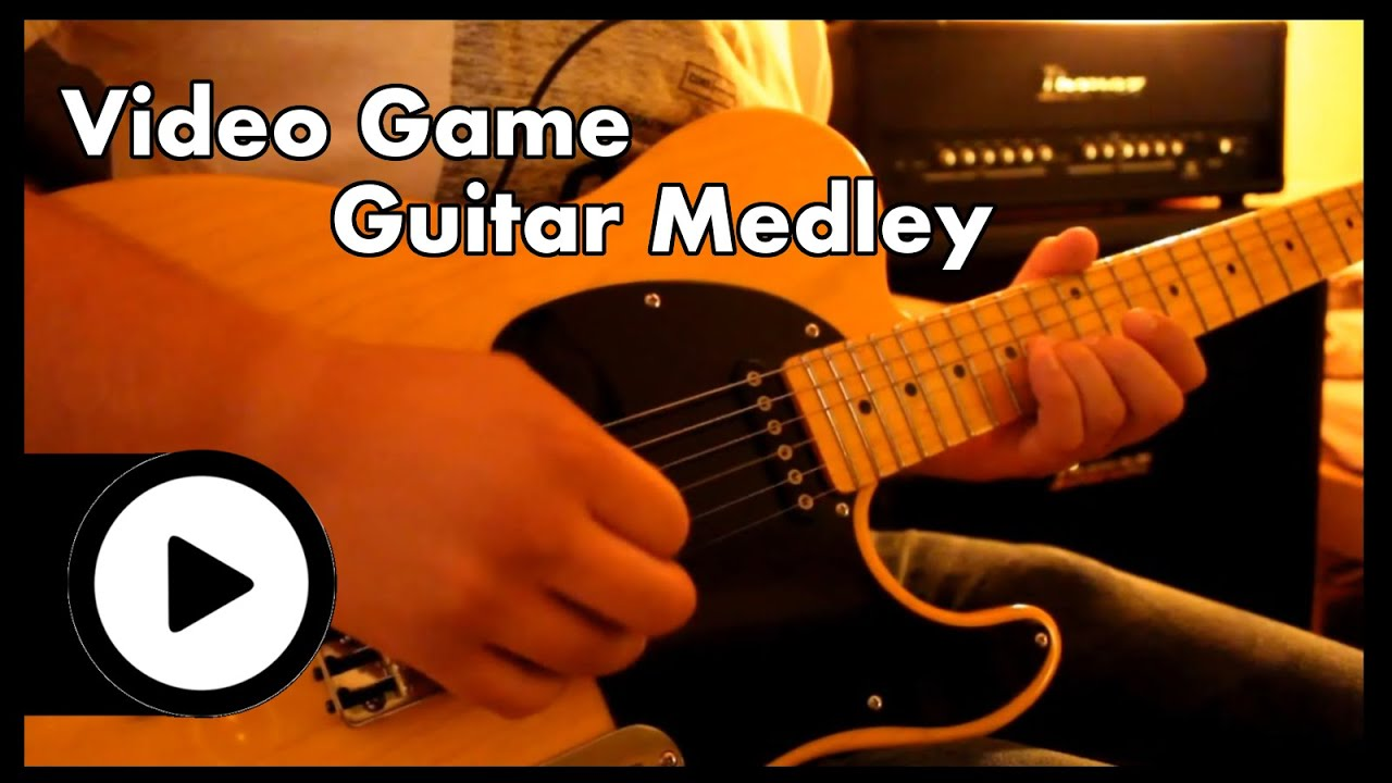 video game guitar medley youtube. Black Bedroom Furniture Sets. Home Design Ideas