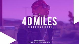 """DJ Mustard X Kid Ink Type """"40 miles"""" Instrumental (Prod : Danny E.B)"""