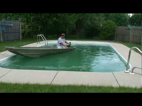 Jon Boat In Pool How To Save Money And Do It Yourself