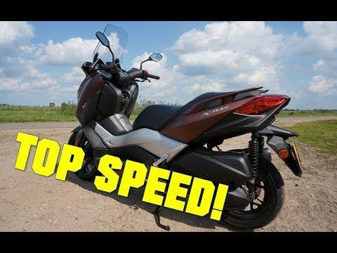 Yamaha XMAX 300 TOP SPEED IN 4K!
