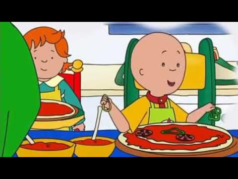 Caillous Pizzapalast - Mal was anderes - Caillou lernt Bowling HD