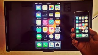 Screen Mirroring with iPhone (Wirelessly - No Apple TV Needed)