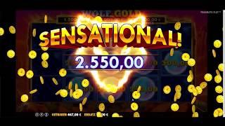 Wolf Gold 50 Euro FREISPIELE - MEGA Jackpot 14.000 Euro!