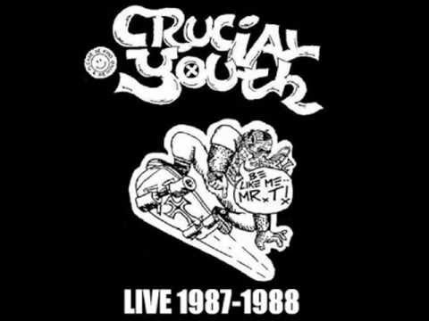 CRUCIAL YOUTH - Live 1987-1988 cd r incl.covers