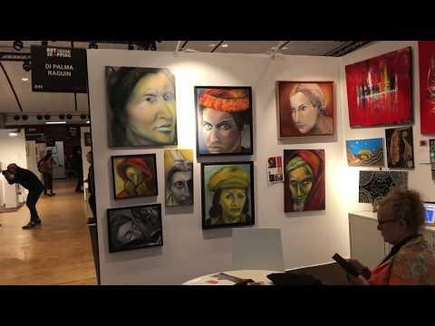 🇫🇷EXPO ART SHOPPING PARIS 05/25/2019 PARIS 4K