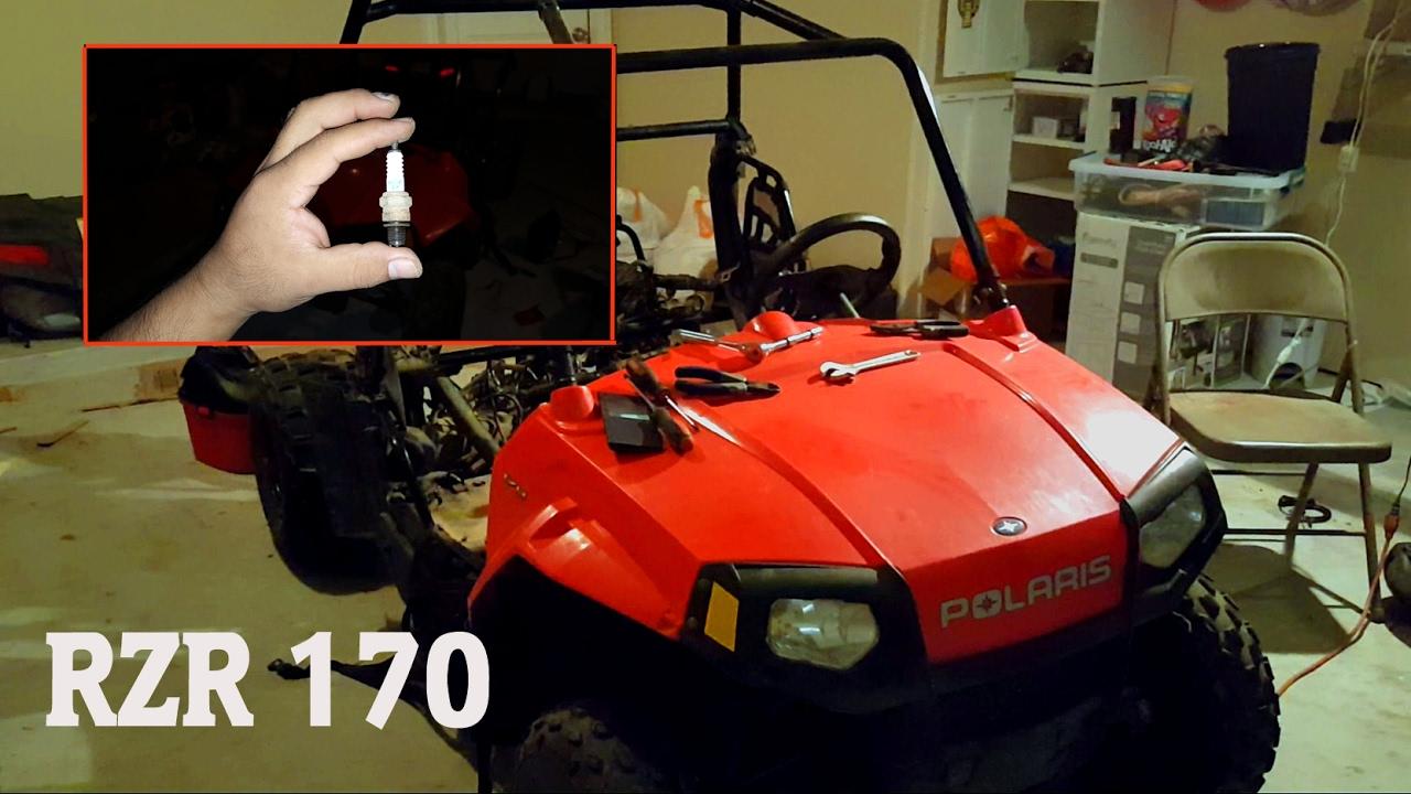 medium resolution of polaris rzr 170 where is the spark plug located