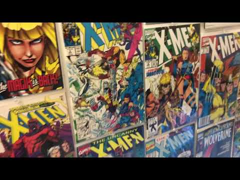 comic-book-display-walk-through!-marvel,-dc,-&-indie-collectible-comics,-key-issues,-and-variants!