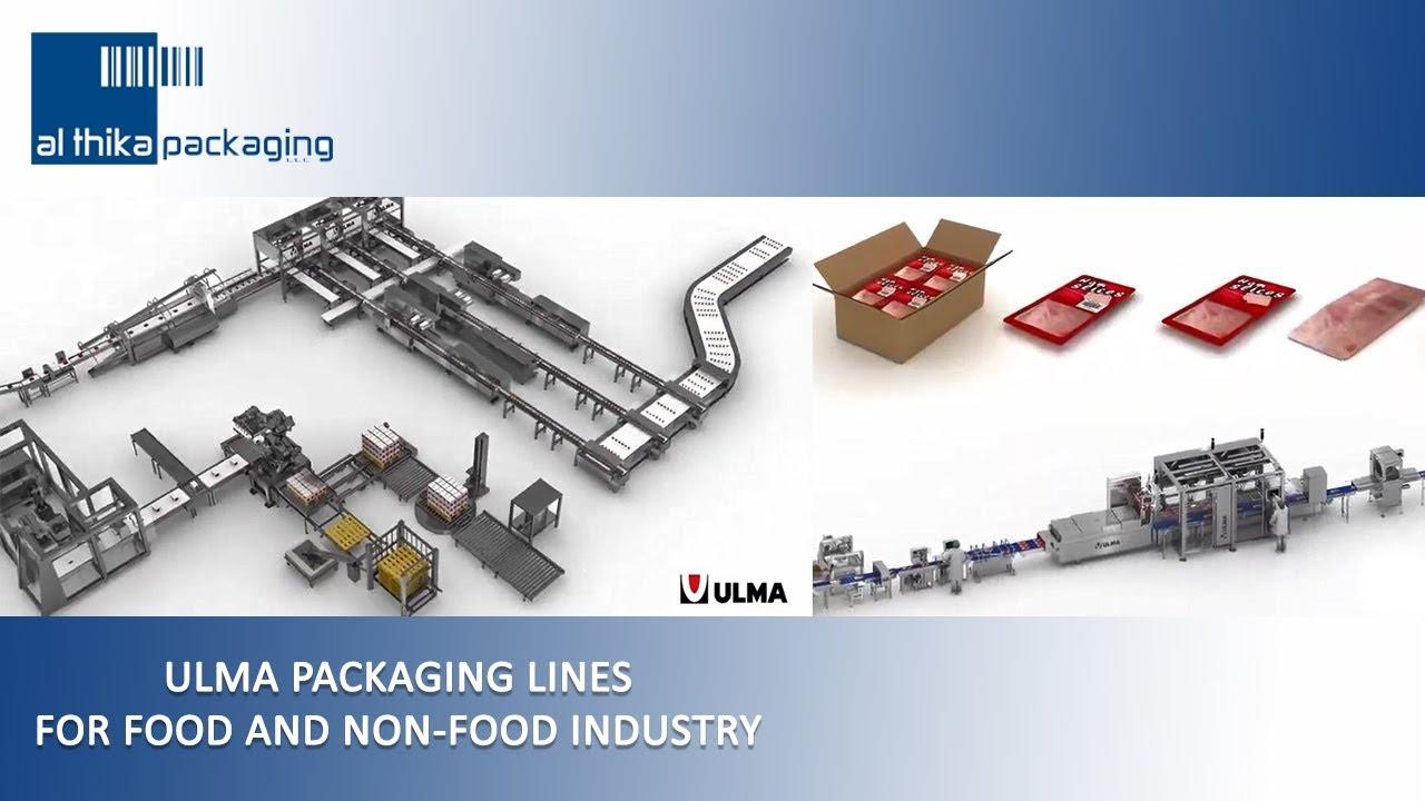 ULMA Packaging machine MAP packing, Al Thika Dubai UAE Saudi Oman
