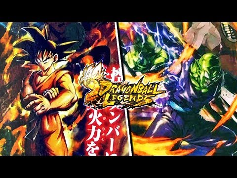 NEW RADITZ SAGA GOKU & TRANSFORMING PICCOLO! Dragon Ball Legends & Dokkan LR Bardock Team (V-Jump)