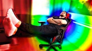 Игровое Кресло с Подсветкой!