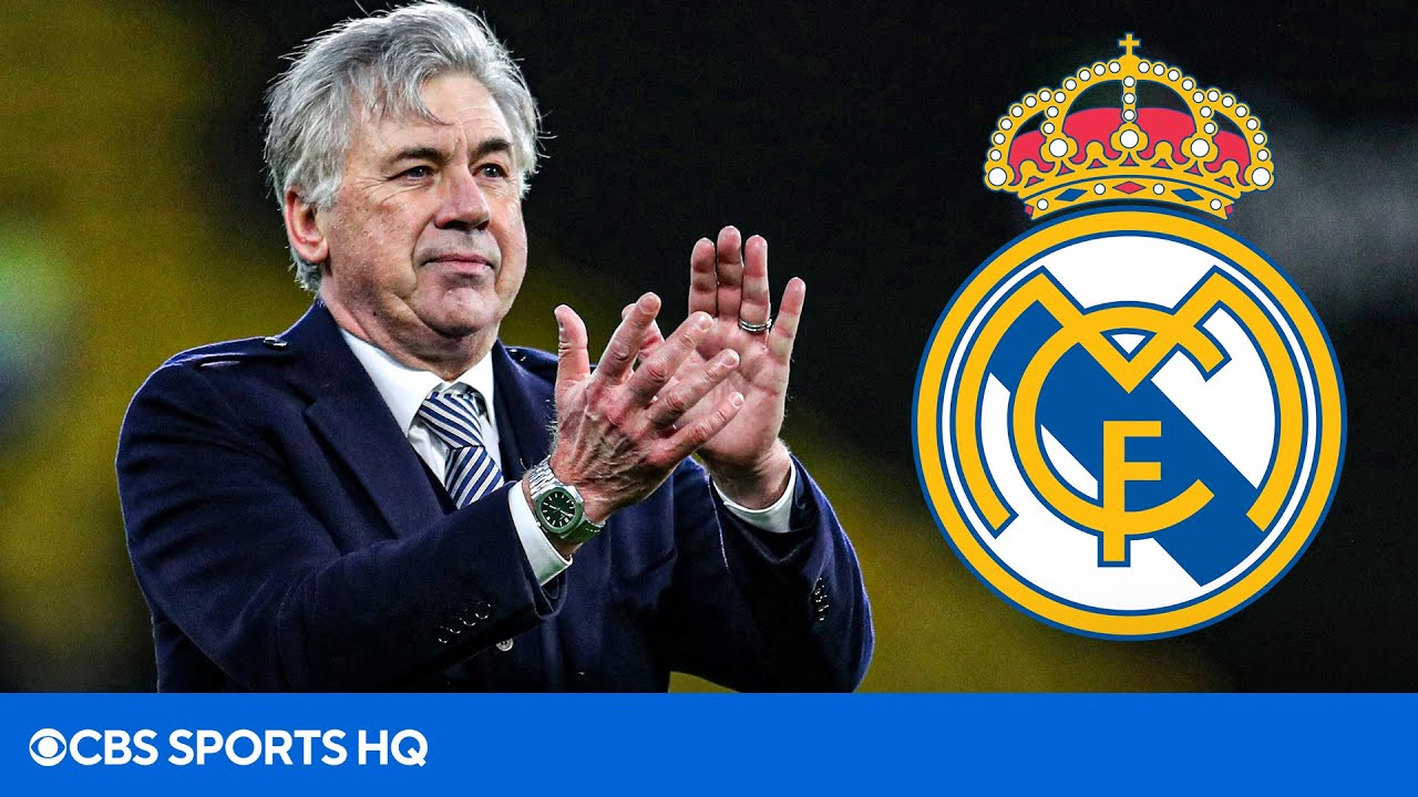 Carlo Ancelotti returns to Real Madrid to become manager for ...