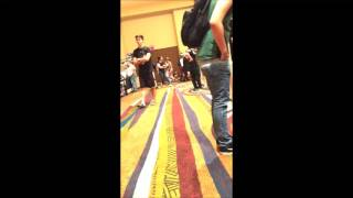 Rolling video of saboten.