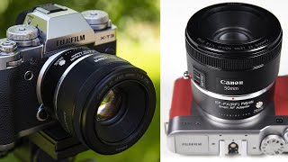 Canon to FUJIFILM X Smart Autofocus Adapter