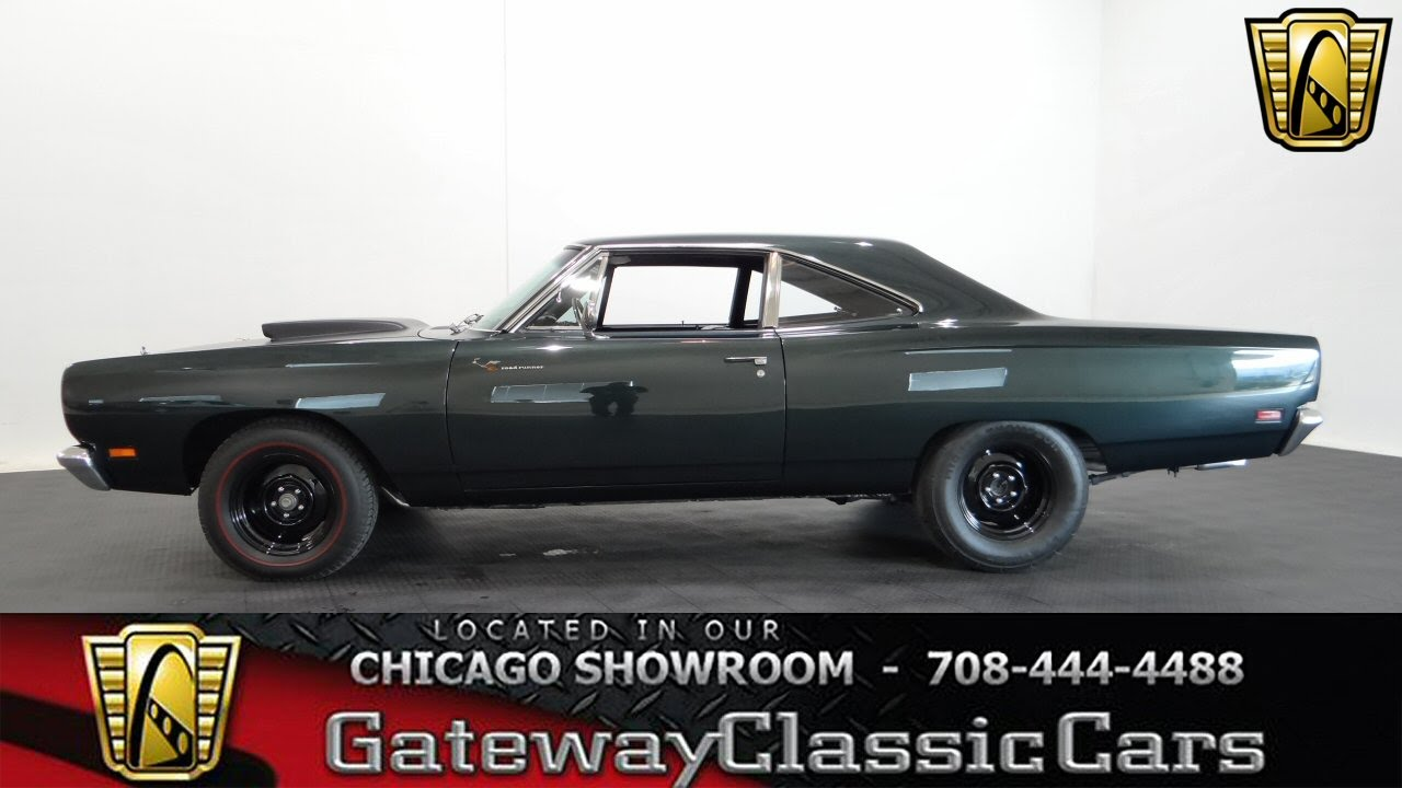 1969 Plymouth Roadrunner Gateway Classic Cars Chicago #942 - YouTube