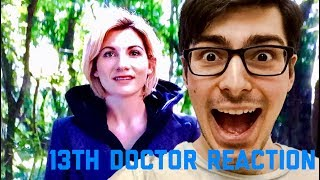 13th Doctor Reveal Reaction - JODIE WHITTAKER IS THE FIRST FEMALE DOCTOR!