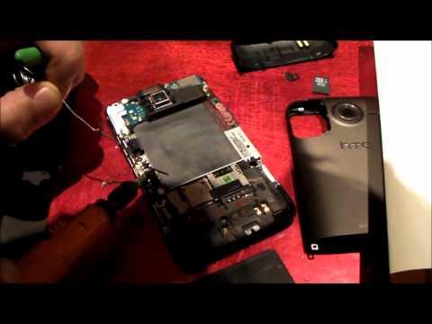 Modify HTC Desire HD for hotswap battery