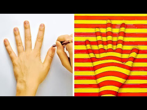 18 DRAWING TRICKS TO BLOW YOUR MIND thumbnail