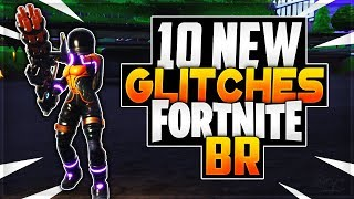 GLITCHES FORTNITE - 10 NEW UNDER THE MAP GOD MODE GLITCHES FORTNITE BR (GLITCHES FORTNITE 2018)