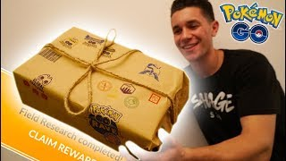 POKÉMON GO SENT ME A REAL LIFE RESEARCH BREAKTHROUGH BOX! What's Inside...