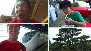 【名古屋~金沢】新幹線としらさぎで駅弁を食べた電車旅&家族は車旅で兼六園を観光
