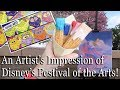 An Artist's Impression of Disney's Festival of the Arts