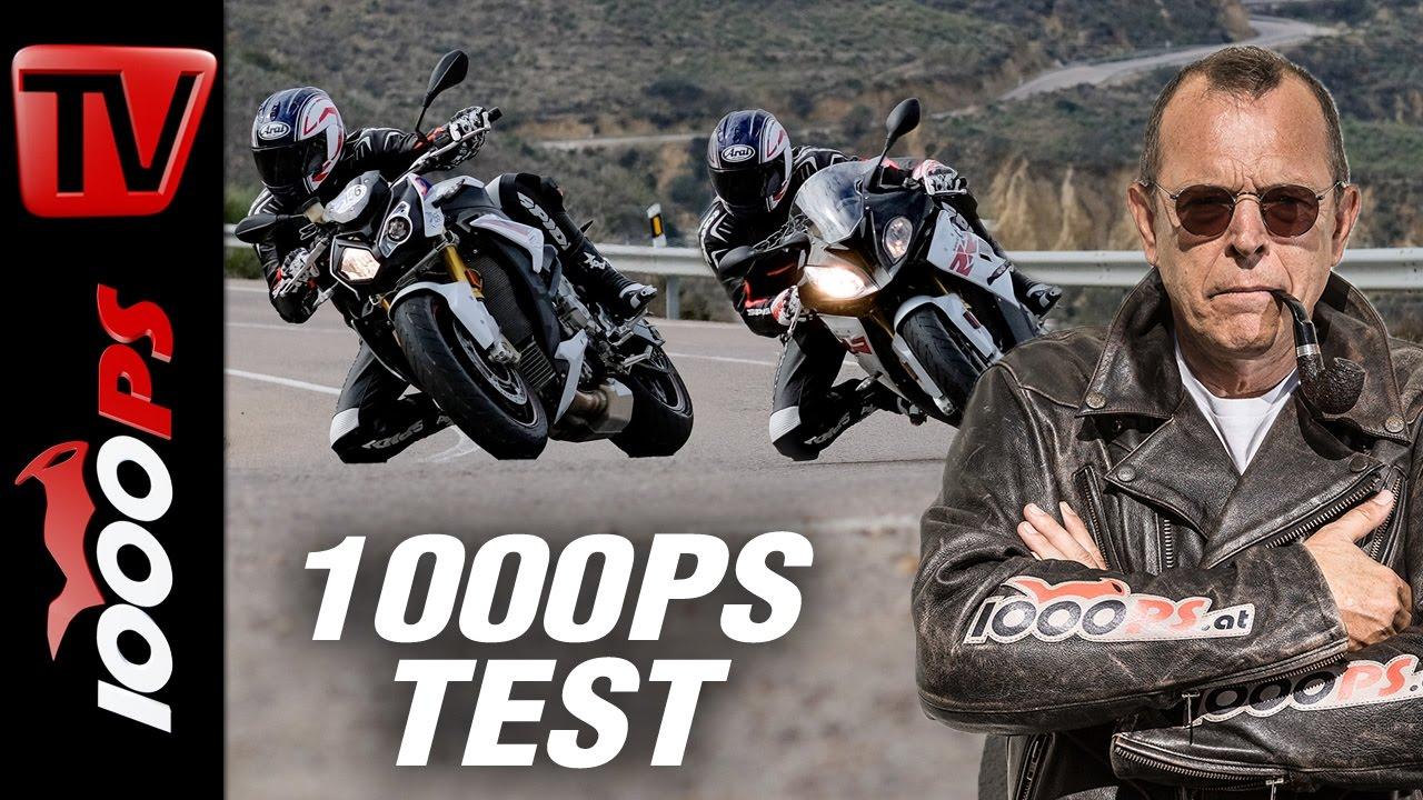 1000ps Test Bmw S 1000 R Vs S 1000 Rr 2017 Supersport Vs