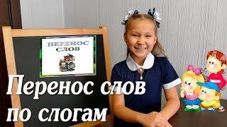 Русский язык. Перенос слов по слогам.