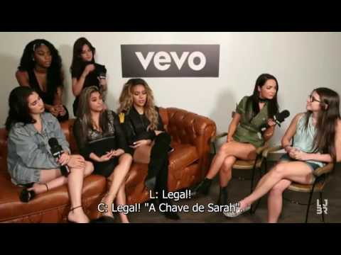Fifth Harmony Vevo Facebook  Q&A part 22 legendado PT-BR