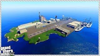 GTA 5 - United States Air Force Military Island