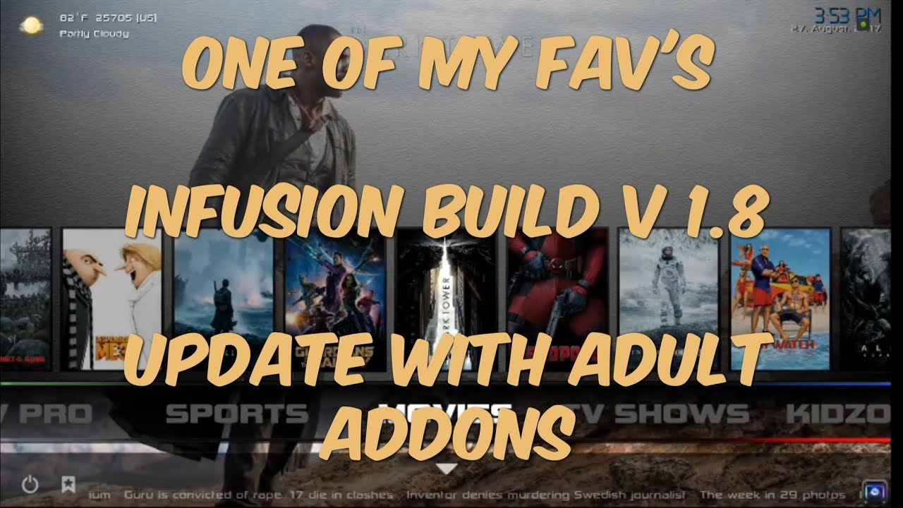 Most Popular Kodi V Build
