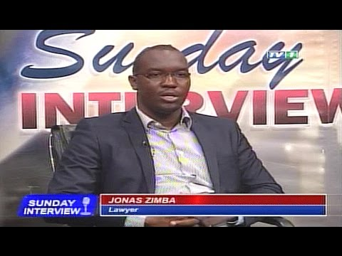 zam1news.com - Sunday Interview 9th April 2017 Guest: Jonas Zimba Lawyer