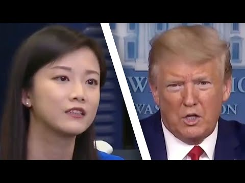 Trump Grills Reporter, Asks If She Works For China. She Said 'No.' Here's The Rest Of The Story.