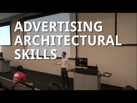How to Advertise Your Skills - for Architecture Students