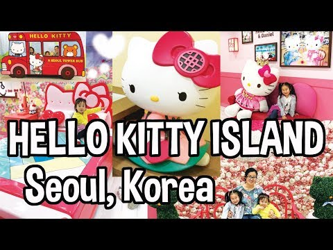 Hello Kitty Island at Namsan Tower (N Seoul Tower) in Seoul,