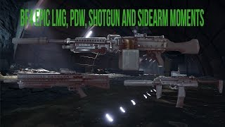 bf4 epic moments lmgs pdws shotguns and sidearms