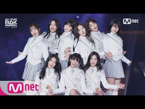 [2017 MAMA In Japan] Fromis_9_INTRO + Glass Shoes