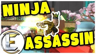 Ninja Assassin | ROBLOX - Silent ninja takes down his foes (Fast Glitch)