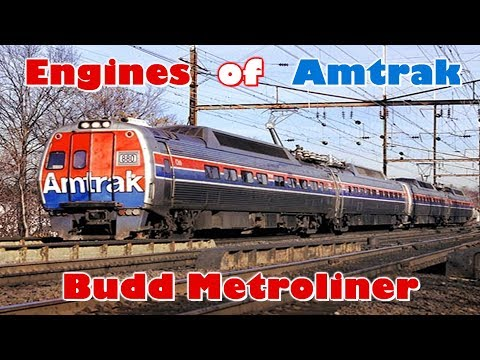 Thumbnail: Engines of Amtrak - Budd Metroliner